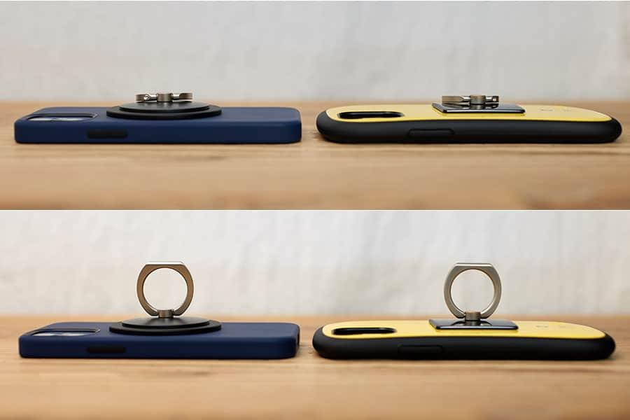 iFace&iRing Appleシリコンケース&iRing 比較