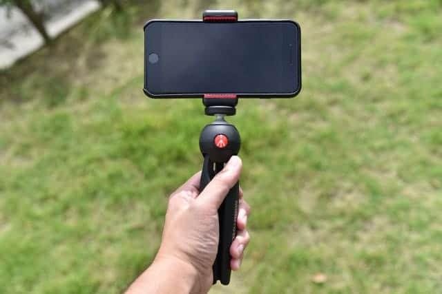 iPhone7をビデオカメラとして使うためマンフロットのミニ三脚『PIXI』購入 コンパクトで持ちやすさ抜群!