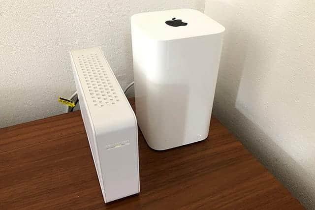 AirMac Extremeに外付けハードディスクを繋げてメディアサーバに