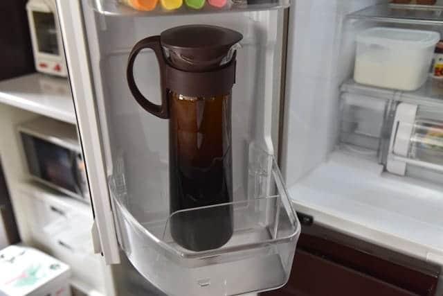 冷蔵庫で約8時間抽出する