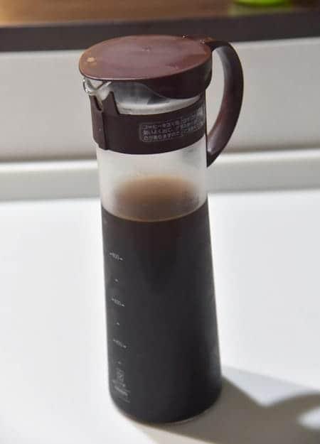 水出しコーヒーの出来上がり