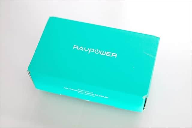 RAVPower スティック型モバイルバッテリー 5000mAh 急速充電のパッケージ