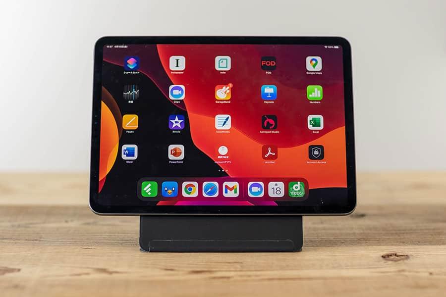 iPadにはMOFT Snap-On タブレットスタンド + Smart Folio カバーがなかなか良い感じ