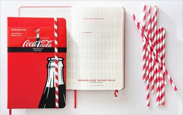 コカ・コーラ仕様のモレスキン 最後のストローエディションが発売開始で5種類が出揃う