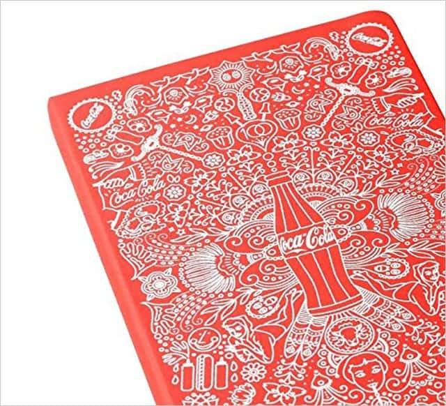 限定版 コカ・コーラ ノートブック|ハードカバー ルールド(横罫) ラージ