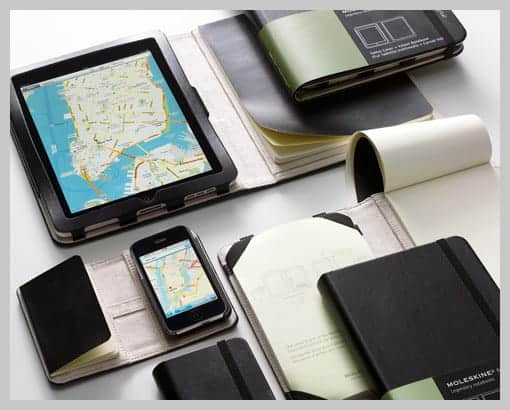 moleskine covers for iPhone and iPad