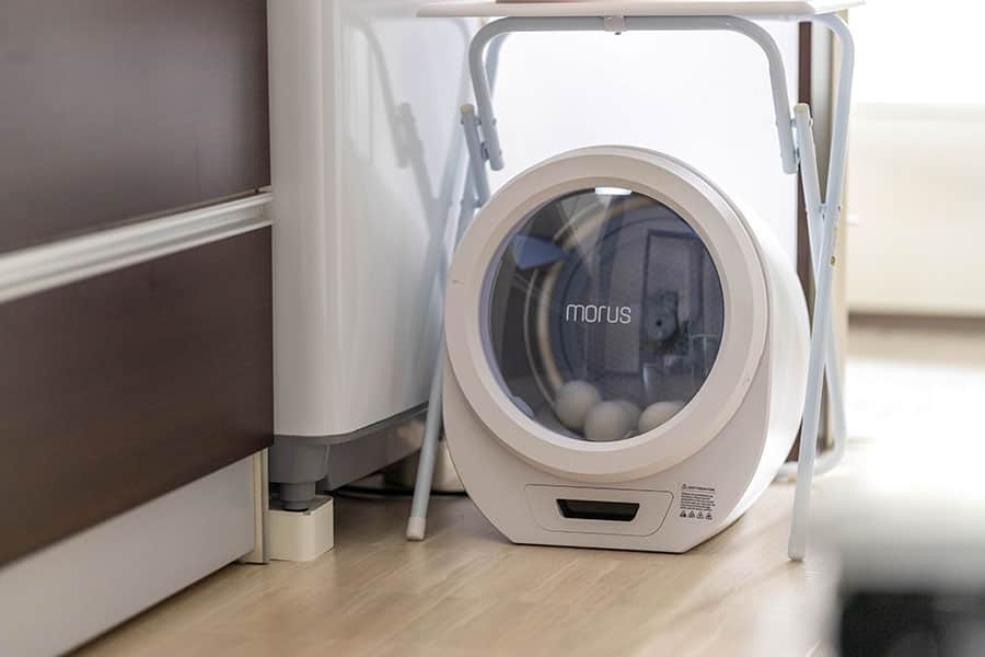 毎日ふかふかカタオル!超小型乾燥機『Morus Zero』ならドラム式要らずでふわふわ生活