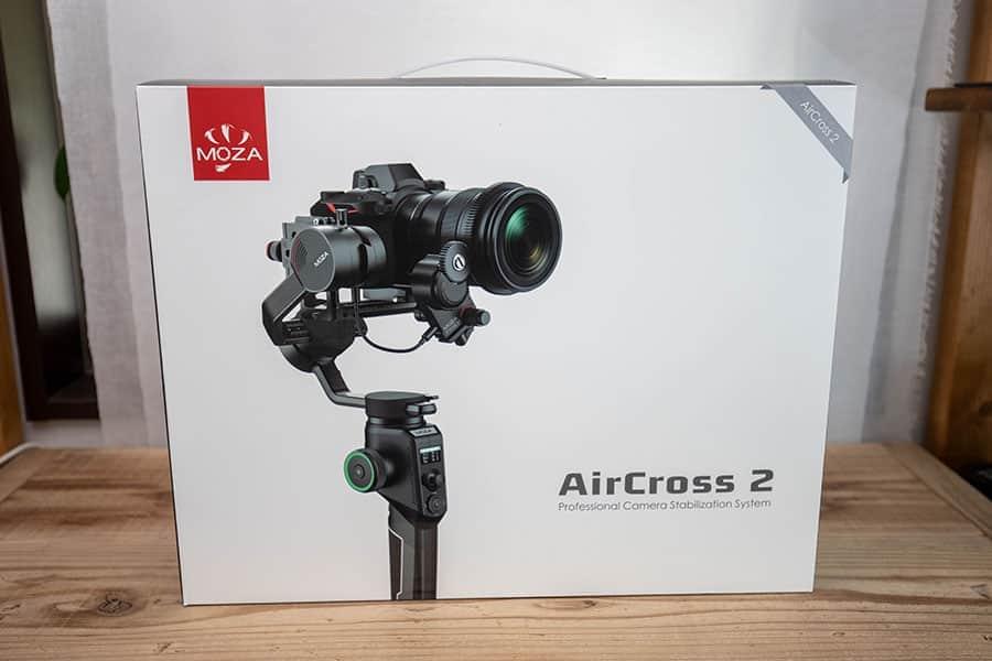 MOZA AirCross2 のパッケージ