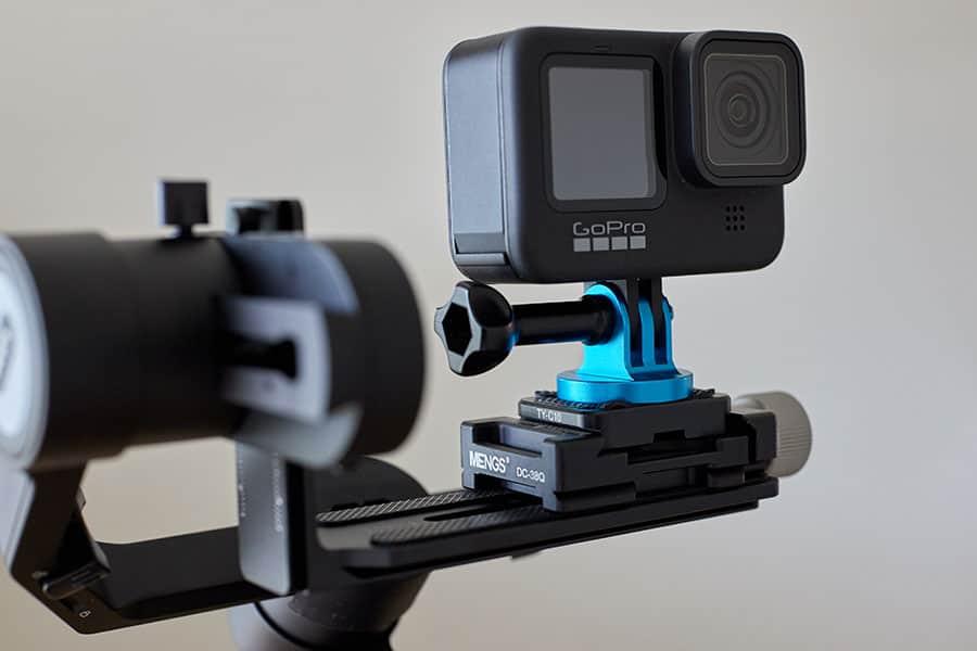GoPro Hero9をマウント