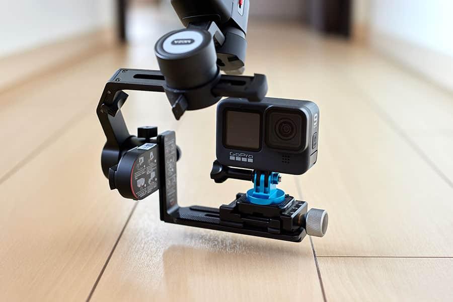 GoProでローアングルしても全然つらくない