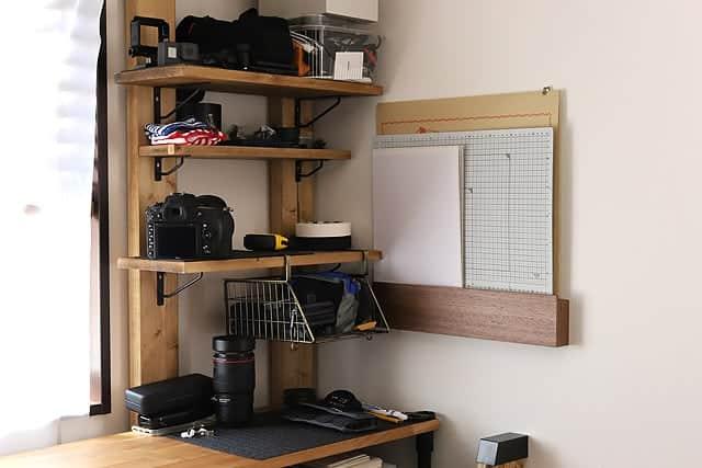 無印良品 壁につけられる家具を設置完了