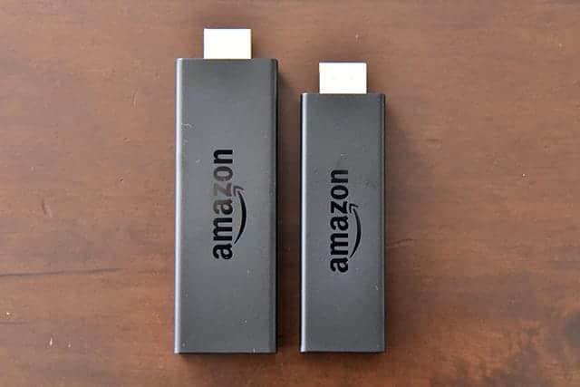 Fire TV Stick 本体の新旧比較