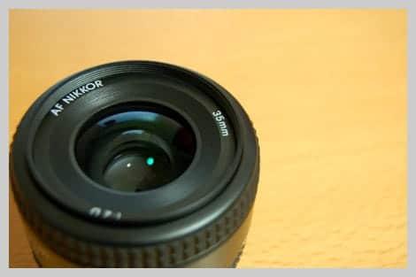 Ai AF Nikkor 35mm F2Dのレンズ