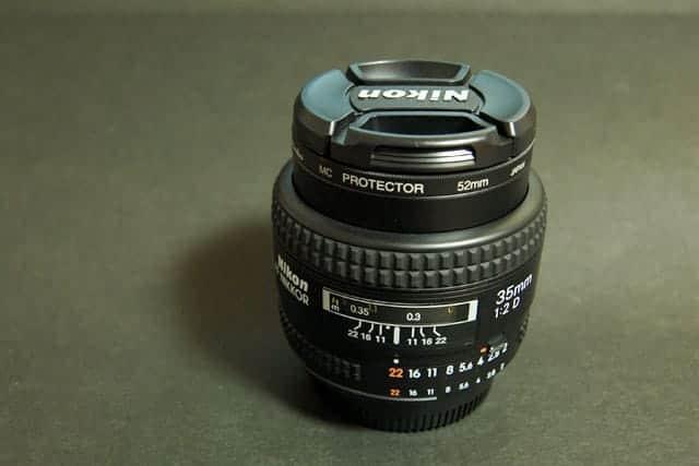 レンズ2本目 Ai AF Nikkor 35mm F2D購入!