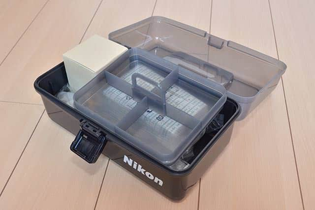 Nikonクリーニングキットプロ2 小物を入れるケース