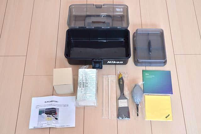 Nikonクリーニングキットプロ2 内包物一覧