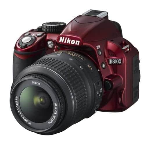 ニコン D3100 限定の赤モデル