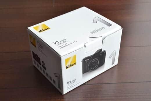 Nikon 1 V1 外箱
