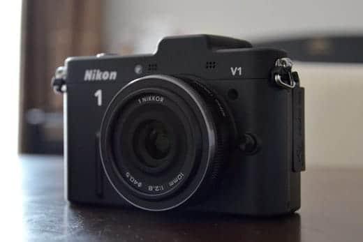 Nikon 1 V1 パンケーキレンズ装着