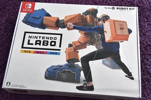 ロボットキットの箱