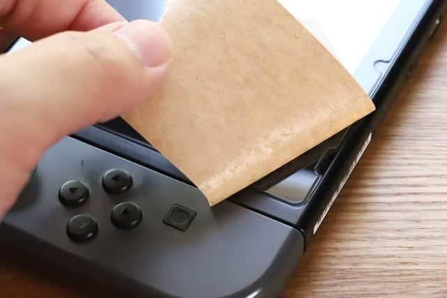 ガムテープでは剥がせない