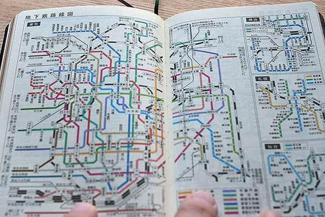 地下鉄路線図 東京 横浜 札幌 仙台