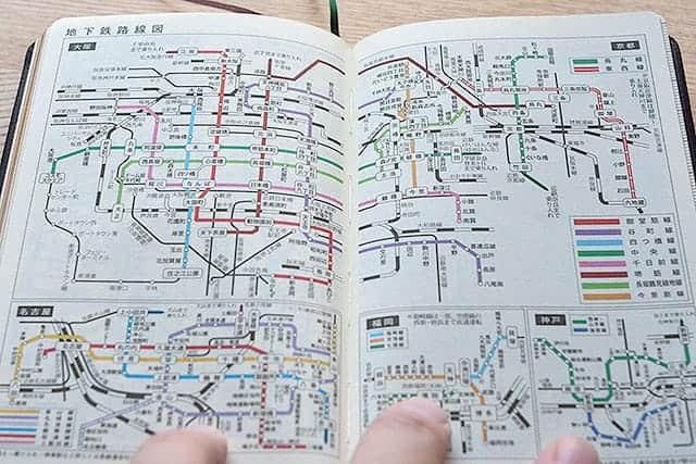 地下鉄路線図 大阪 京都 名古屋 福岡 神戸