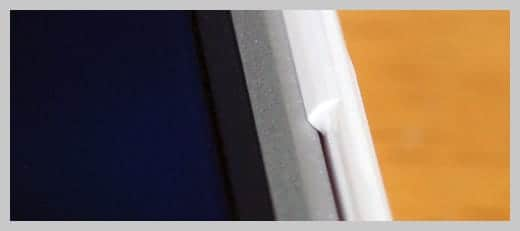NUDE for iPad 装着部分の写真
