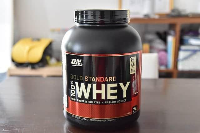1回で24gのタンパク質を摂取!ONゴールドスタンダードのプロテインを購入!ダイエット時には不可欠です
