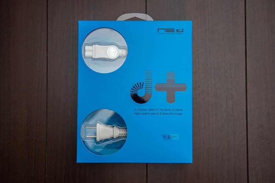オヤイデのパワーケーブル d+Power Cable C7 1.2