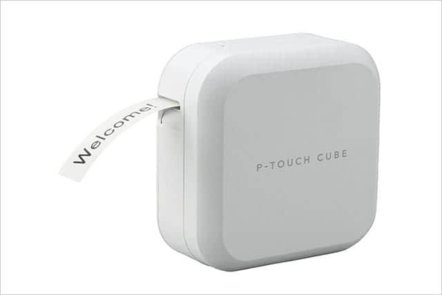 ラベル作りがはかどる!iPhoneからワイヤレスでプリントできるピータッチキューブに24mm幅モデル登場