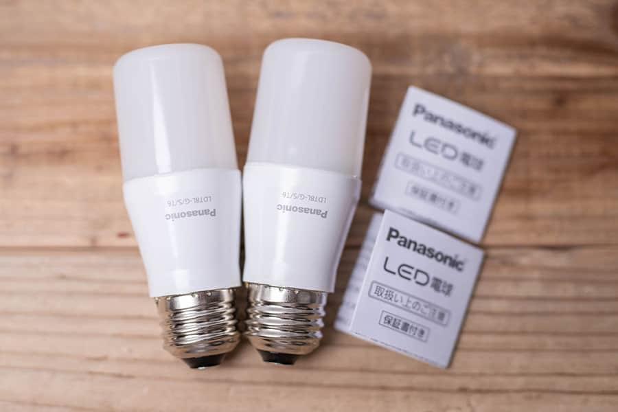 パナソニック T形 LED電球