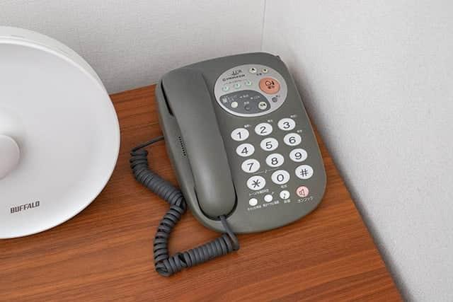 20年以上使ってた電話機