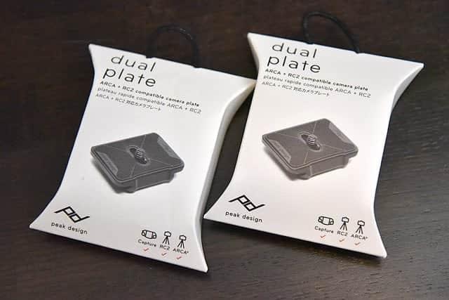 PeakDesign dual plate PL-D-2 レビュー