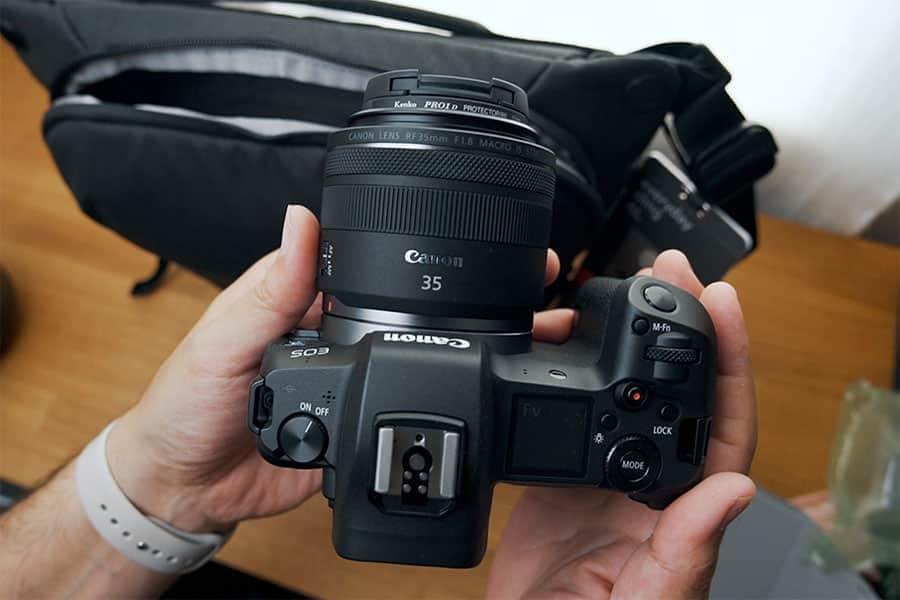 EOS Rと35mm F1.8マクロ