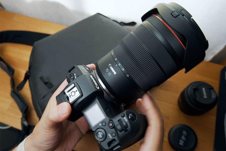 EOS RとRF15-35mm