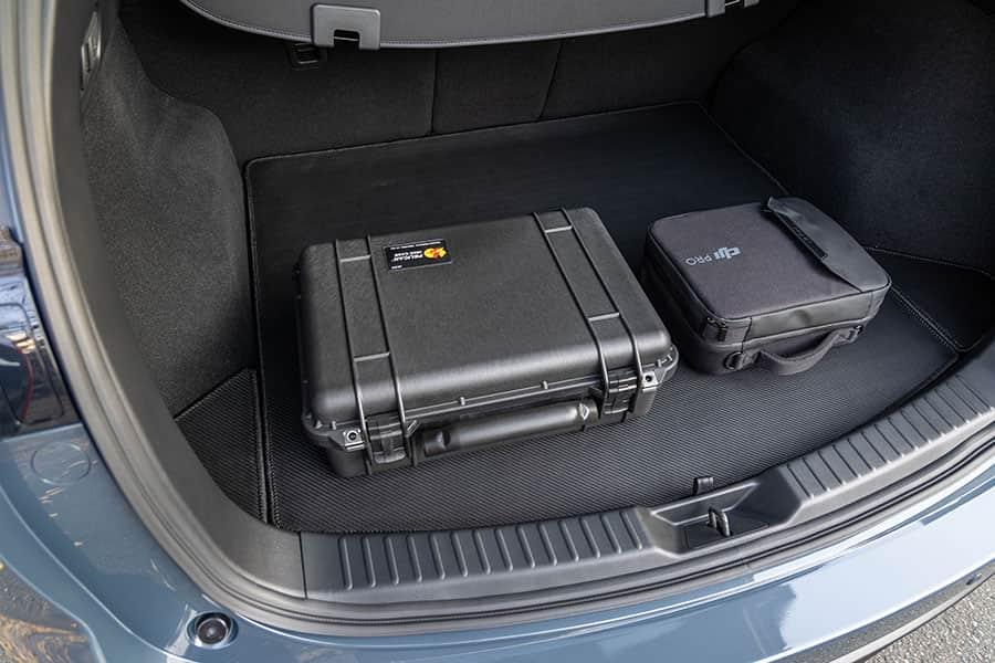 ペリカン1500ケースはCX-5の荷室に置いて使ってます