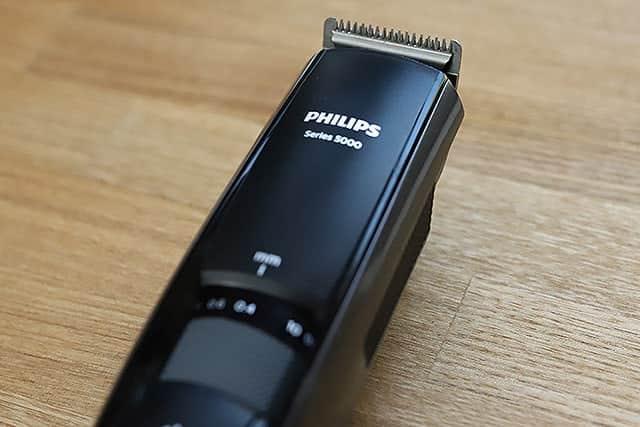 0.4mmから1cmまでヒゲの長さを調整してカットできるフィリップスのヒゲトリマー購入レビュー
