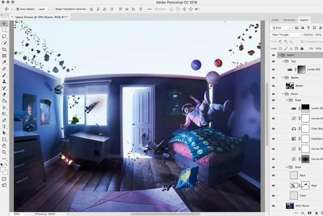 Photoshop CC iPad版が2019年に登場