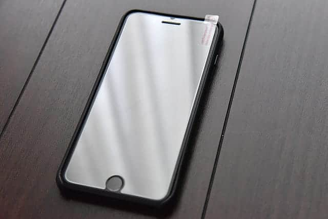 iPhoneに貼り付けたイメージ