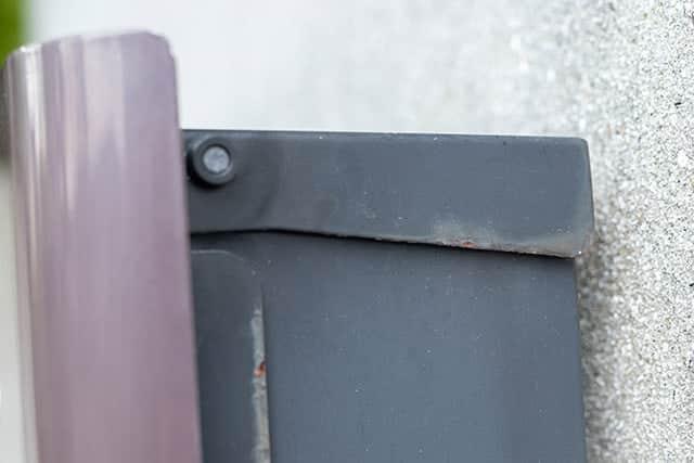 サビ転換剤を塗る前のポスト