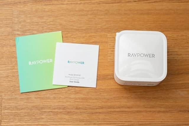 RAVPower 61W 急速充電器 パッケージ一覧