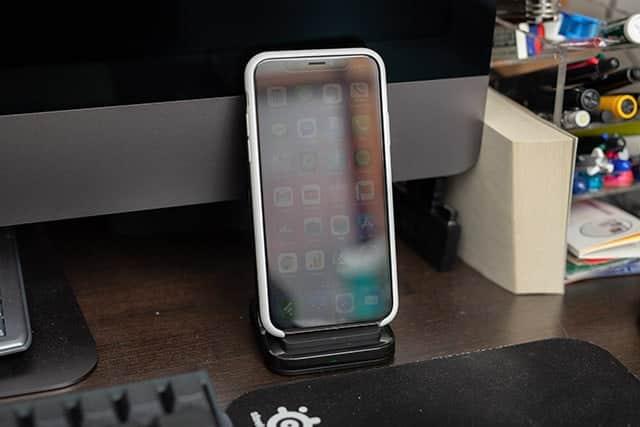 iPhoneを7.5Wで充電