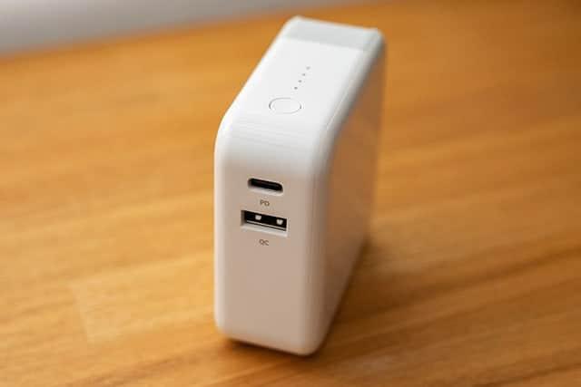 USB-CとUSB-A端子の両対応