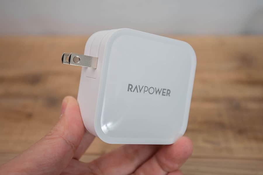 RAVPower Type C 2ポート 急速充電器 90W RP-PC128 本体