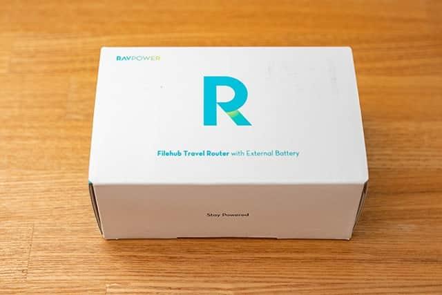 RAVPower ワイヤレスSDカードリーダーの箱