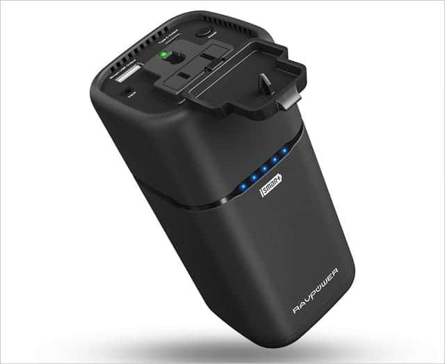 RAVPowerスタンド型モバイルバッテリーの特徴
