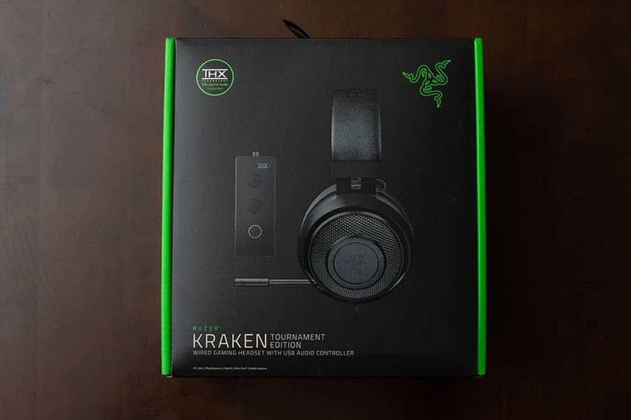 Razer Kraken Black ゲーミングヘッドセット + THX USBオーディオコントローラー