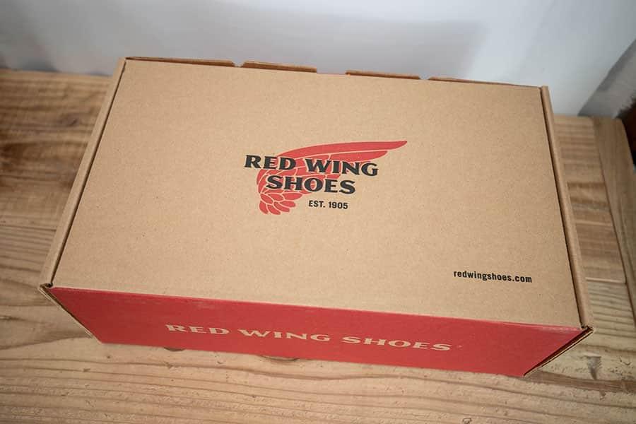 レッドウイング ポストマンの箱