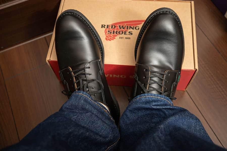 長距離を歩いても疲れにくい革靴『レッドウイング ポストマン』レビュー エイジングも楽しめる